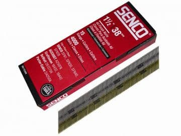 Chisel Smooth Brad Nails Galvanised 15G x 38mm (Pack 4000)